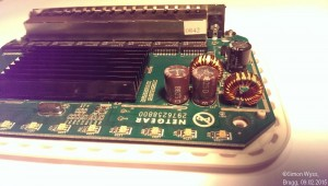 Netgear GS608 v2 blew capacitor