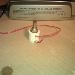 CTEK MXS 10 with attached potentiometer